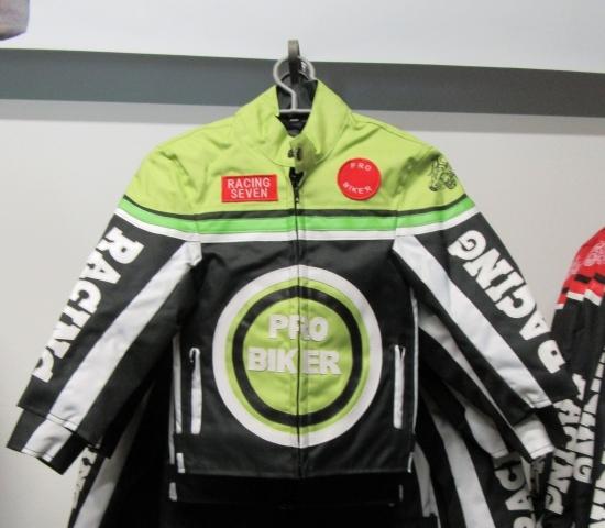 Styriaquad Kinder Motorrad / Quad Jacke in Grün