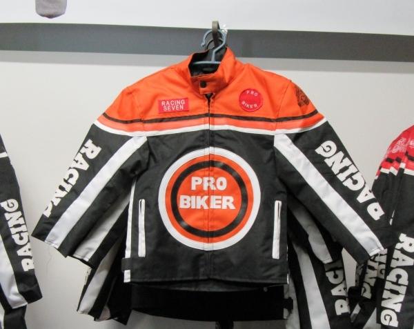 Styriaquad Kinder Motorrad / Quad Jacke in Orange