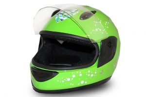 Full Face Helmet Grün