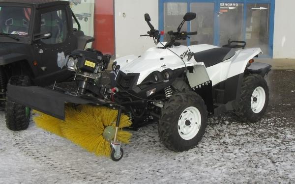 Quad ATV Kehrmaschiene 400ccm