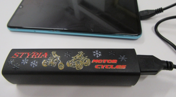 Styria Motor Cycles Powerbank