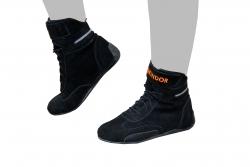 Skindor Sportschuh schwarz/orange