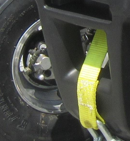 Hydraulische Bremsanlage für die Vorderachse