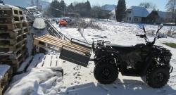 ATV Offroad Quad Hytrack 200 inkl. AHK und Lademulde