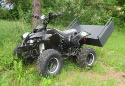 Eco TRUCKY 1600 mit Kippbarer Ladefläche © by Styriaquad