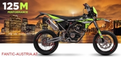 Fantic 125cc Euro 4 Super Moto Performance