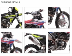 Fantic 125cc Euro 4 Enduro Cross Performance