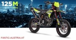 Fantic 125cc Euro 4 Super Moto Casa