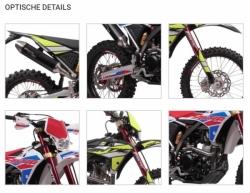 Fantic 250cc Euro 4 Enduro Cross Spezial