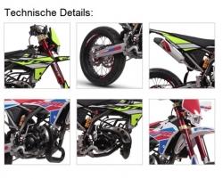 Fantic 50cc Euro 4 Super Moto Spezial