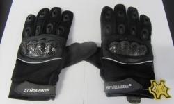 Echt-Leder Motorrad Handschuh ©Styria Bik