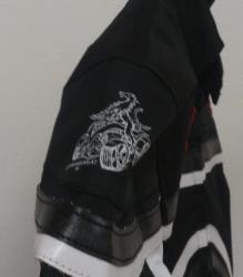 Styriaquad Kinder Motorrad / Quad Jacke in Schwarz