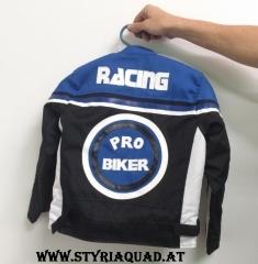 Styriaquad Kinder Motorrad / Quad Jacke in Blau