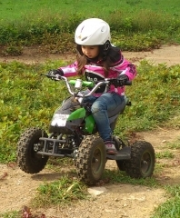 Styriaquad Kinder Motorrad / Quad Jacke in Pink