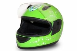 Full Face Helmet Grün