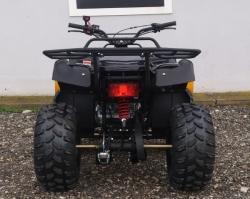 Hummer 200cc inkl. Seilwinde und Volcan-Marken-Schneeschild