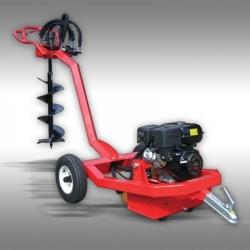 Quad ATV Erdbohrer inkl. 5 Bohr Einsätze