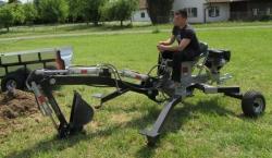 Mini ATV Quad Schreit Bagger