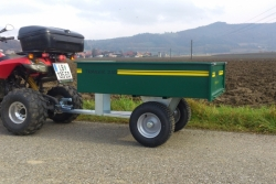 Volcan Marken-Anhänger für ATV Qaud`s 250 M
