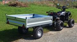 Volcan ATV Quad Anhänger 400 L