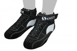 Skindor Sportschuh schwarz/silber
