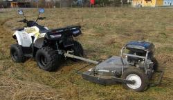 Setangebot Hunter Offroad ATV inkl Mähwerk und Straßenzulassung