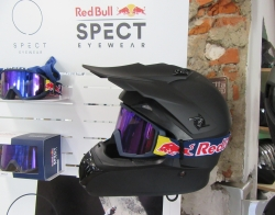 RedBull Set Angebot  Brille  inkl.  Crosshelm