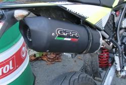 Sportauspuff GPR für Fantic Enduro oder Super Moto Euro4