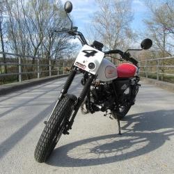 Mash Dirt Tracker 50cc Euro 5 Retro Schaltmoped